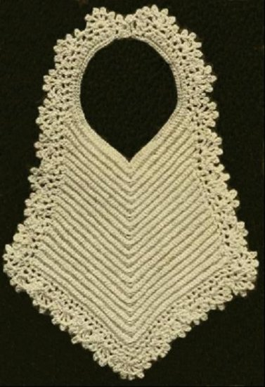 Crochet Baby Bibs Pattern Gifts Crochet Antique Vintage Bibs