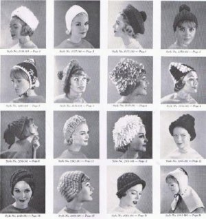 Bernat Pattern Book Hats Crochet 101