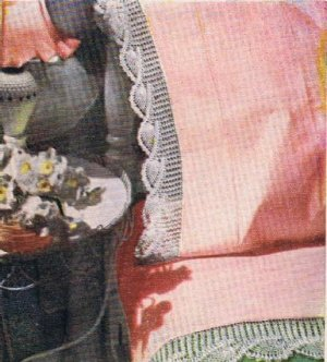 Pdf Crochet Pattern Pillowcase Edging Pineapple Pdf