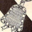 Christmas Crochet Pattern Trim Ornament for Tree