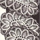 PDF Crochet Pattern for Pineapple Table/Chair Sets Vintage Doily Patterns