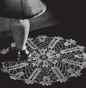 #7803 Lace Crochet Doily Pattern Centerpiece Lace Crochet Doily Pattern