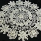 Irish Flower Doily Rose of Sharon Pattern, Irish Pattern Doily