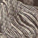 Afghan Crochet Pattern 70s