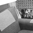 #7733,  Chair Backs  Set  Crochet Pattern