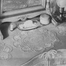 Crochet Scallop Shells Set Dresser Doilies