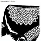 Chair  Spider Web Pattern Doily Set