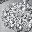 Christmas  Crochet  Table Pattern Doily Day Holly Day Centerpiece