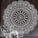 Vintage Flowing Fountain Doily Crochet Pattern