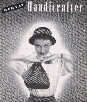 Crochet Handbags and Hats  Bernat Book 151