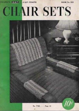 223 Chair Sets Pattern PDF Book