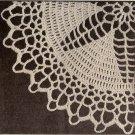 Star Center Doily Pattern Crochet Lace