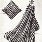 Afghan Vintage Crochet Hifi Pattern Vintage Pattern