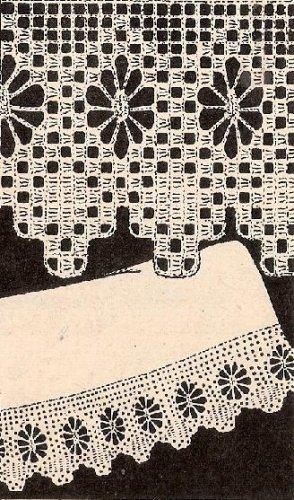 Crochet Pillowcase Pattern Edging Crochet Spider Web
