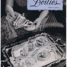 Pattern Magazine Vanity Set Doilies Book Vintage