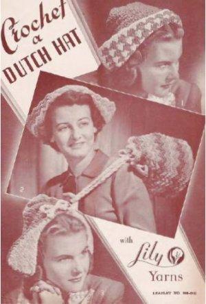 Dutch Bags Hats Crochet Patterns