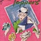 #208 Pattern Ladies Fascinators Toppers   PDF Book