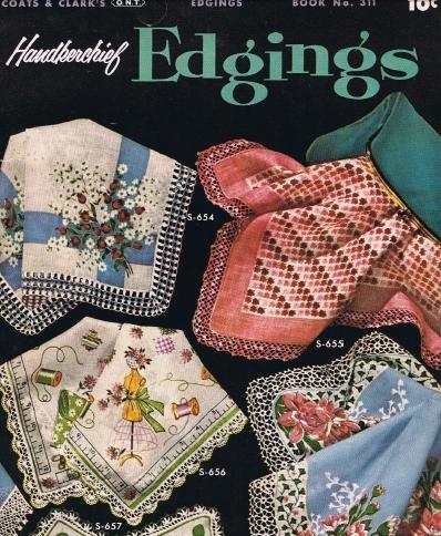 Book #311, Crochet Patterns Edgings Book Patterns