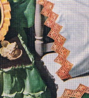 Pillowcase Crochet Edging Pattern
