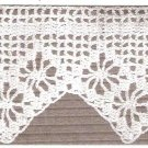Vintage Spiderweb Pillow Cases Crochet Edging Pattern Lace Trim