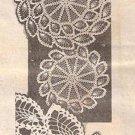 Crochet Doily Pattern, Pattern Pineapple Doilies, Crochet Double Wreaths
