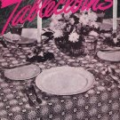 Crochet Patterns, Tablecloths Crochet #231 Vintage Book ©1947