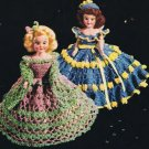 Crochet Doll Dress Patterns Vintage Costumes