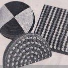 Vintage Crochet Pillows Patterns Set , Vintage Decorators, Sofa, Thread Den