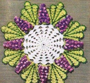 Pdf Grape Doily Patterns Crochet Grape Patterns Doilies