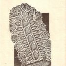 Crochet Pattern, Lace Oval Runner No. 3170 Pineapple Vintage Mailorder Table Doilies Pattern Lace