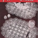 Vintage Crochet Pineapple Patterns Doilies Book Pineapples-on-Parade #241 Book