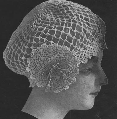Snood Crochet Hair Net Pdf  Pattern