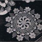 50s Irish Doily, Vintage Crochet Doilies, Crochet Centerpiece Pattern
