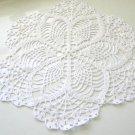 Round Set Pdf Doily Pineapple Lace Crochet Pineapple Pattern