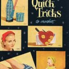 326 Pattern Quick Tricks Vintage Crochet Book