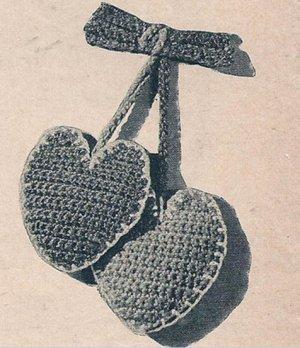 Valentine Crochet  Pin Pattern Lapel Crochet