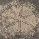 Vintage Crochet Lace Ruffle Doily Pattern Crochet
