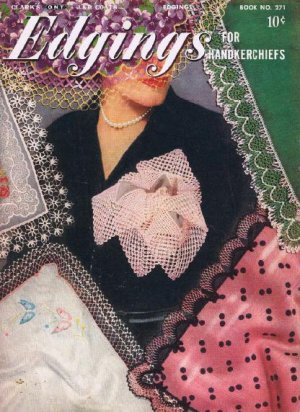 Crochet Edging Patterns Book Handkerchief Edgings