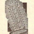Pineapple Crochet  Scarf Pattern Crochet Table  Runner
