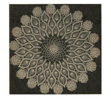 Pineapple Crochet Centerpiece Pattern, Doily Large Patterns Table Vintage