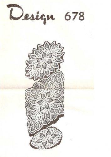 Doily Shop Oval Pineapple Crochet Doilies 678 Patterns