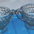 fenton moonstoon sugar and creamers set $10.00