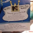 Video Music Awards 1995 program