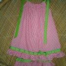 Custom Boutique Hot Pink-Lime Pillowcase Dress Set-2,3,4