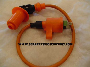 Performance Scooter Ignition Coil Gy6 50cc 125/150cc Chinese Moped Motorcycle Parts