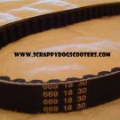669 18 30 CVT Drive Belt Gy6 49CC 50CC 139QMB Short Case 4 Stroke Scooter Motorcycle Parts