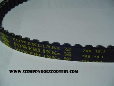 788-18.1-28 Gates Powerlink Belt 50cc Jog Minarelli 1E40QMB Chinese Scooter Moped Motorcycle Parts