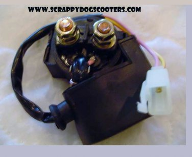 Starter Solenoid Chinese Scooter Moped GY6 139qmb 157qmj Motorcycle Parts