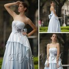 ELYSEMOD Ball Gown Brush Train Strapless Quick Delivery/Wedding Dresses/ Prom Dresses New