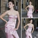 ELYSEMOD Trumpet/Mermaid Strapless Asymetrical Ruffles Quick Delivery/ Evening/ Prom Dress